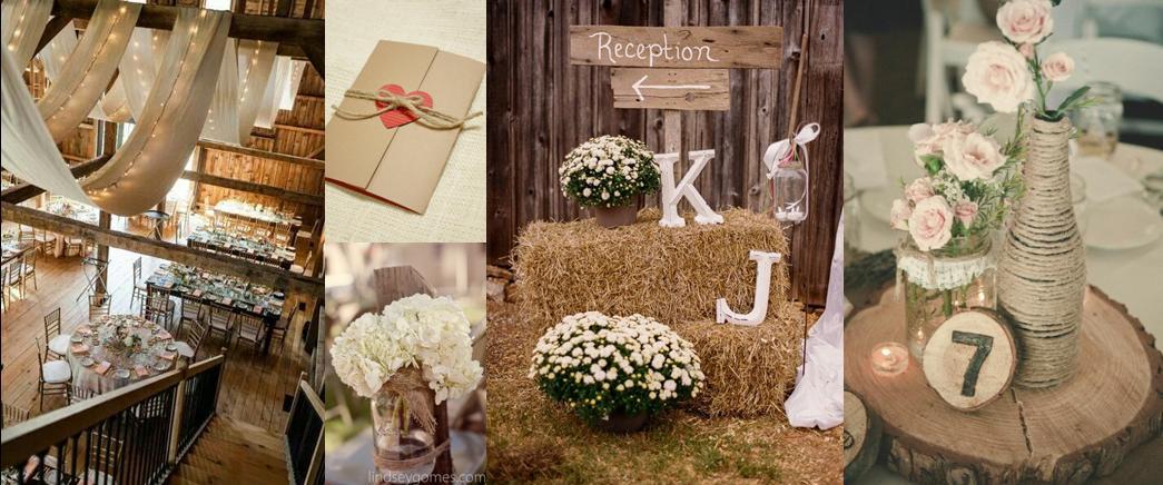 Tischdeko hochzeit naturmaterialien  Hochzeitstrends 2014 - Two Wedding Sisters