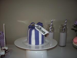 Kuchen für einen Sweet Table