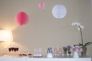 Sweet Table für eine Brautparty