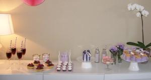 Sweet Table für eine Bridal Shower